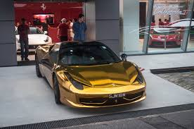 chrome gold ferrari gold chrome 458 italia madwhips