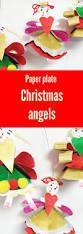 paper plate christmas angels the craft train