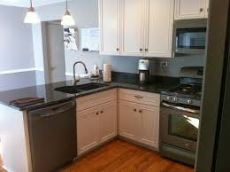 slate appliances with gray cabinets biscotti w cocco glaze cabinets slate appliances new house