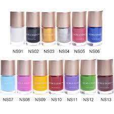 amazon com nicole diary 13pcs nail stamping polish lacquer nail