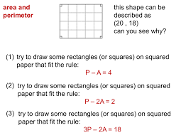 area of 2d shapes miss brookes maths