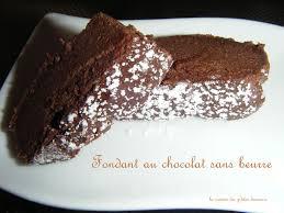 cuisine peu calorique fondant au chocolat sans beurre la cuisine des p tites douceurs