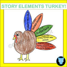 thanksgiving book activity story elements by gretchen ebright tpt