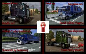 kenworth store kenworth k100 v1 3 truck euro truck simulator 2 mods