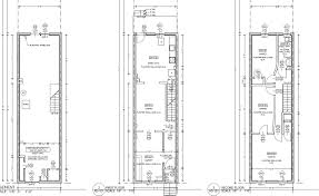 narrow lot house plans row house plans narrow lots homepeek