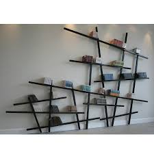 furniture mikado bookshelf ideas alongside oblique wooden shelf