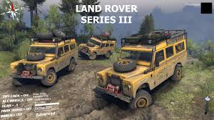 land rover series 3 modsaholic land rover series iii u0026 mini log trailer
