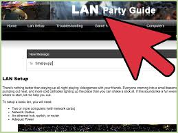 how to host a lan party 14 steps with pictures wikihow