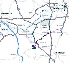 Darmstadt Germany Map by Fourparx Gg Rheinmain U2013 Location And Accessibility