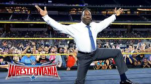 onsale booker t battles brandon carr in spinaroonie off wrestlemania on