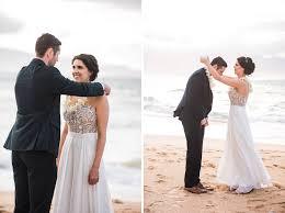 north shore maui elopement ariel stephane maui wedding