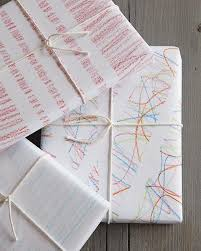 wrapping paper diy wrapping paper with crayons sweet paul magazine