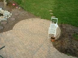 Circular Patio Kit by Patio Sidewalk U0026 Walkway Installation Service By Al U0027s Landscaping