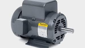 baldor l1430t general purpose ac motor single phase 184t frame