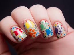 nail art animal print nail art designs nail art easy rainbow