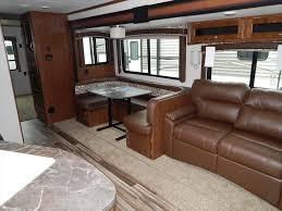2 queen beds bedroom motorhome travel trailer floor plans