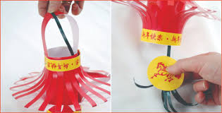 how to make a chinese lantern in 5 steps