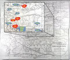 Standing Rock Reservation Map Hunting For Big Foot Army At Wounded Knee