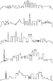 25 trending city skyline art ideas on pinterest skyline city