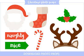 christmas photo booth props printable photo booth props party props made easy personal