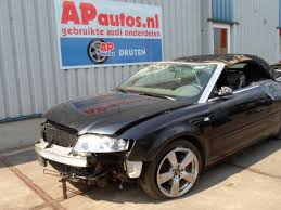 audi a4 convertible 2002 audi a4 cabriolet 8h7 8he 2 4 v6 30v salvage year of