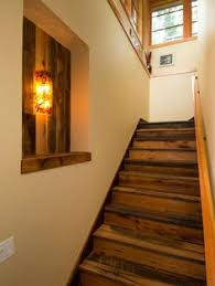 Garage Stairs Design Enclosed Hardwood Staircase To Second Story Bonus Room