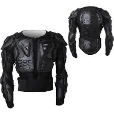 armored leather motorcycle jacket motorcycle parts off road protector spine chest gear armor