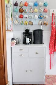 how to organize your coffee cups kitchen coffee mug organization