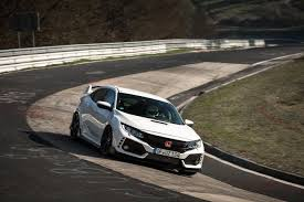 honda civic r the honda civic type r has blitzed the fwd ring record with a 7