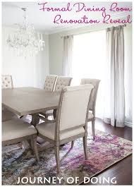 formal dining room reveal u2013 post renovation excitement journey