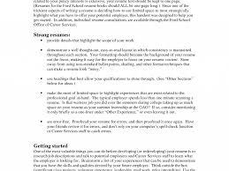 Copy Paste Resume Templates 100 Bullet Point Resume Template Examples Of Cv Internship