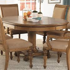 7 piece island inspired single pedestal table u0026 dining arm side