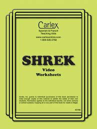 shrek french worksheets carlex online com