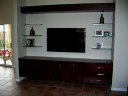 Furniture Attractive Wall Mounted Entertainment Center For Modern - Modern family room furniture