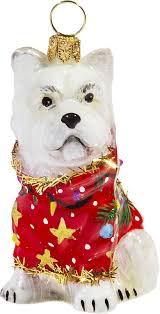 Chihuahua Christmas Ornaments West Highland Terriers