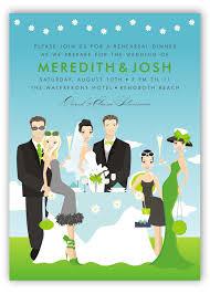 wedding party invitations day wedding party invitation polka dot design