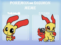 Pokeman Meme - pokemon digimon meme plusle by leniproduction on deviantart