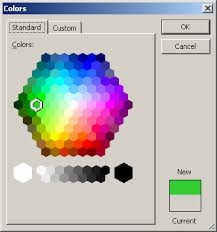 excel color picker collection of vba code snippets and useful
