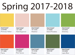 pantone 2017 color trends color trends spring 2017 2018 updated back to brain learning