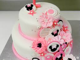 minnie mouse cake 1st birthday minnie mouse inspired cake cakecentral