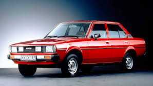 products of toyota company the 1980 model of the toyota corolla was a normal vision in