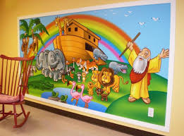 19 best children church murals images on pinterest children