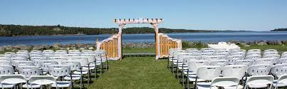 table and chair rentals island middle island miramichi weddings rentals