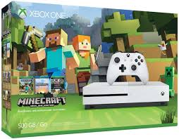 amazon com xbox one s 500gb console minecraft bundle