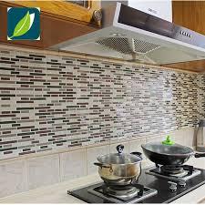 decorative backsplash fancy fix vinyl peel and stick decorative backsplash kitchen tile