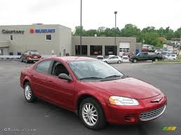 chrysler sebring 2002 red image 208