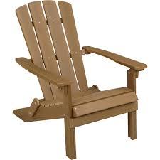 Folding Outdoor Chair Folding Composite Adirondack Chair U2014 Brown Www Kotulas Com