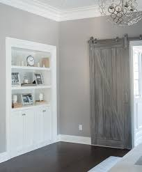 gray barn door design ideas