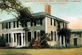 massachusetts house recollecting nemasket the peter oliver house 1769