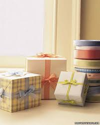 boxes with bows bows ribbons and gift toppers martha stewart